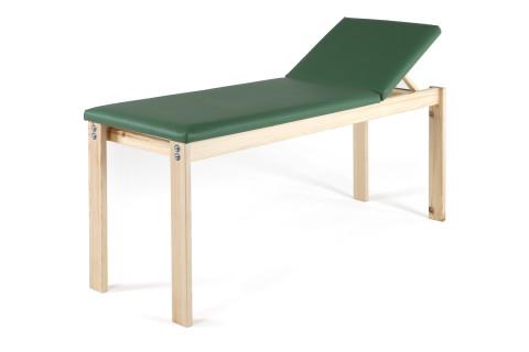Lettino-legno-pino svedese-per vista medica-estetista-Art.1010